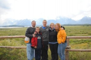 Great family shot in Tetons