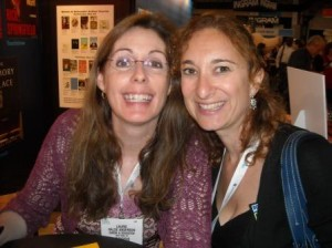 Huge fan-girl moment meeting Laurie Halse Anderson!