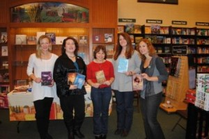 Book signing with Jen Nadol, Shannon Delany, Margie Gelbwasser and Jame Richards
